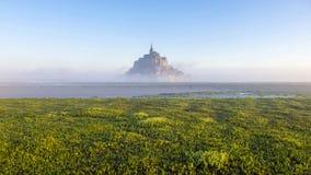Mont-san-Miichel fotografie stock libere da diritti