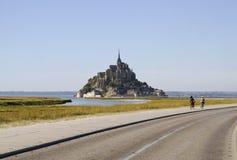 Mont Sanktt-Michel Royaltyfria Foton