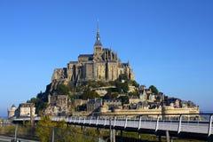 Mont Sanktt-Michel royaltyfri bild