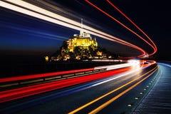 Mont Sanktt Michel arkivbild