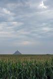 Mont Sanktt Michel Royaltyfria Bilder