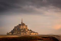 Mont Sanktt Michel Royaltyfri Fotografi