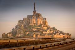 Mont Sanktt Michel Arkivfoton