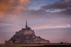 Mont Sanktt Michel Royaltyfri Foto