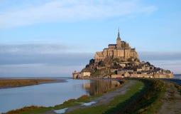 Mont Sanktt Michel - Frankrike Royaltyfria Foton