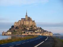 Mont Sanktt Michel - Frankrike Royaltyfri Fotografi
