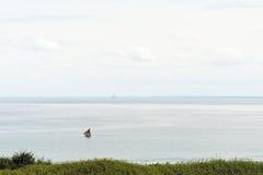 Mont santo-Miguel del canal inglés y de la isla Fotografía de archivo libre de regalías