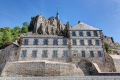 Mont-Santo-Miguel - Normandía - Francia Fotografía de archivo