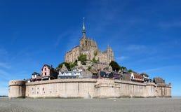 Mont-Santo-Miguel - Normandía - Francia Imagen de archivo