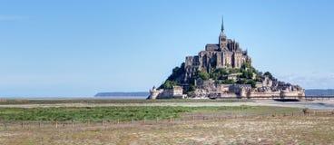 Mont-Santo-Miguel - Normandía - Francia Imagenes de archivo