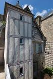 Mont-Santo-Miguel - Normandía - Francia Fotografía de archivo libre de regalías