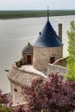 Mont-Santo-Miguel - Normandía - Francia Fotos de archivo libres de regalías