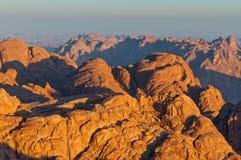 mont Sinaï photos libres de droits