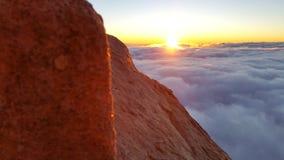 Mont Sinaï, aube Images stock