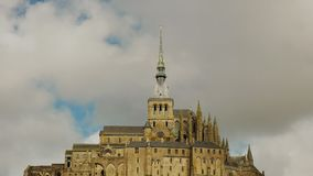 mont st米谢尔,法国接近的看法  影视素材