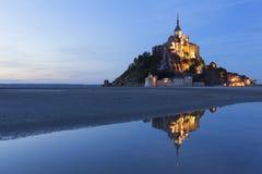Mont St米谢尔 免版税图库摄影