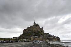 Mont-St-Мишель Стоковое Изображение