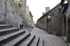 Mont St米谢尔在法国 免版税图库摄影