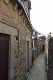Mont St米谢尔,诺曼底,法国 库存照片