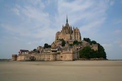 Mont St. Michel在法国 免版税库存图片