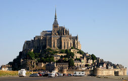 Mont St Michel. Smallisland community in Brittany Royalty Free Stock Images