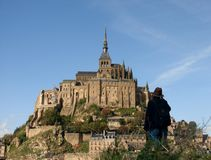 The Mont St Michel Stock Images