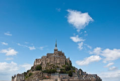 Mont St Michel. The Isle of Mont St Michel - Normandy - France Royalty Free Stock Photography
