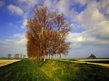 Mont st Michel Stock Afbeelding