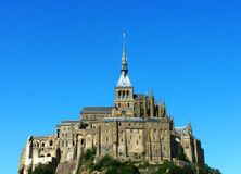 Mont St Michel Royalty Free Stock Photos