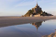 Mont St Michel Fotografia Stock