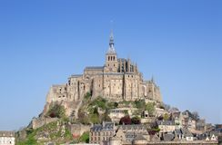 Mont St Michel. Brittany, Northern France Stock Photos