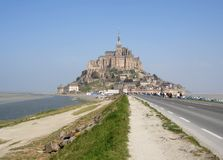 Mont St Michel Royalty Free Stock Images