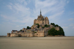 Mont St. Michel in France Royalty Free Stock Image