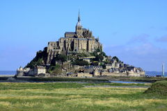 The mont St-Michel.  France Royalty Free Stock Images