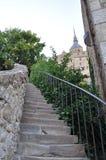 Mont St Michel in Francia Fotografie Stock Libere da Diritti