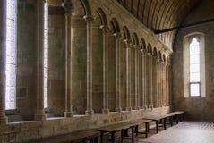 Mont St Michel, Francia, Normandía Imágenes de archivo libres de regalías