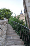 Mont St Michel i Frankrike Royaltyfria Foton