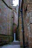 Mont St Michel-Kloster Stockbilder