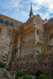 Mont St Michel kloster Royaltyfria Foton