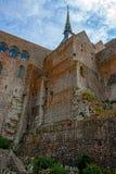 Mont St Michel monaster zdjęcia royalty free
