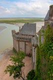 Mont St Michel monastery Stock Image
