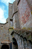 Mont St Michel monastery Stock Photos