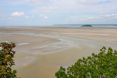 Mont St Michel monastery Royalty Free Stock Image