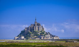 Mont St. Michel Stock Photo