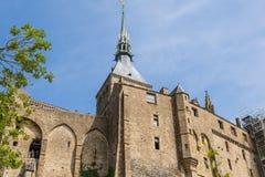 Mont St Michel, Normandië, Frankrijk Stock Foto