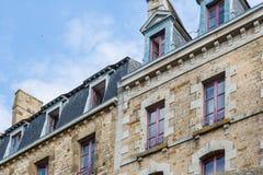 Mont St Michel, Normandie, Frankreich Lizenzfreies Stockbild