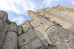 Mont St Michel, Normandy, França Fotos de Stock Royalty Free