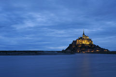 Mont St-Michel Stock Photo