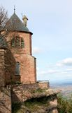 Mont St Odile, an convent in the Vosges Mountains Stock Image