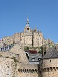 Mont Str. Michel Lizenzfreies Stockbild